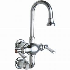 Chicago Faucets 2handle Kitchen Faucet In Chrome With 33
