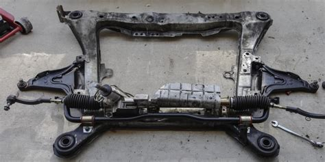 replace steering rack   volvo  instructions