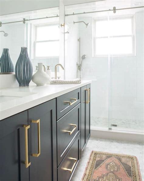 Bathroom Hardware Ideas by Ramsey Drawer Pull In 2019 Bathroom Design Black