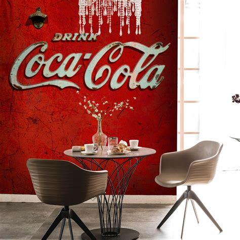 distributer  coca cola red mural wallpaper direct