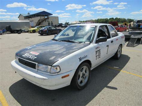 nissan sentra race car 1994 nissan sentra se r nasa pte tte for sale