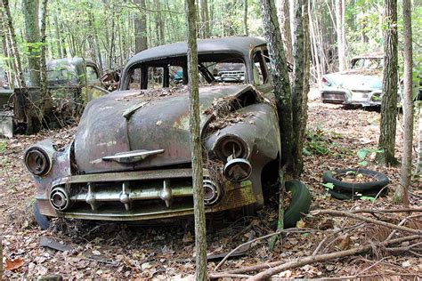 Old Car City U.s.a. Is Full Of Abandoned Muscle Cars And