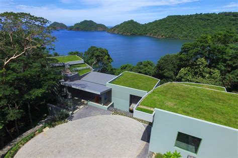 casa in costa rica exploring the world of green roofs and underground homes