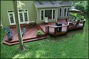 Multi Level Ipe Deck