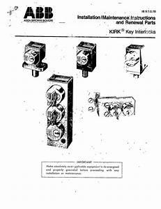Installation Maintenance Instructions And Renewal Parts