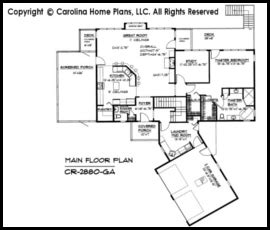 modern ranch floor plans large contemporary ranch style house plan cr 2880 sq ft