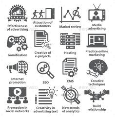 business management icons pack   images