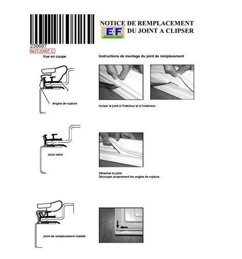 joint de porte refrigerateur liebherr a clipser vigier electrom 233 nager