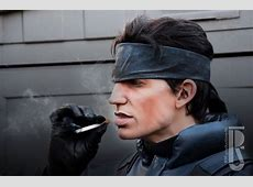 Metal Gear Solid's Solid Snake brought to life cosplay