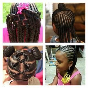 Coiffure Facile Pour Petite Fille : photo coiffure petite fille afro alsp ~ Nature-et-papiers.com Idées de Décoration
