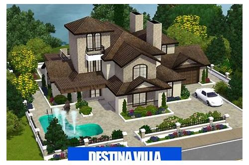 free download sims 3 mansion