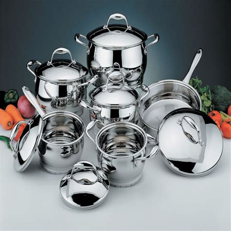 berghoff professional  pc cookware set
