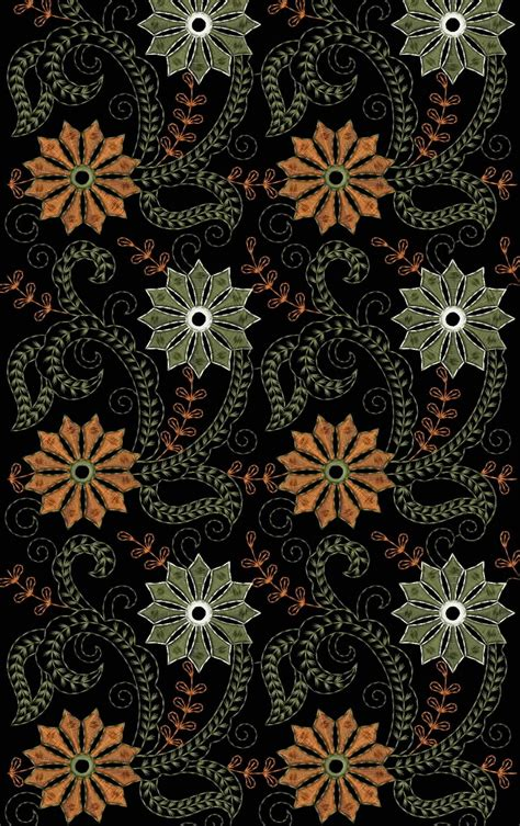 Embdesigntube All Over Jall & Hira Moti Lace Emb Designs