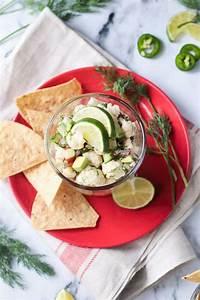 Dilled Vegan Ceviche - Virtual Vegan Potluck ~ Veggie Inspired