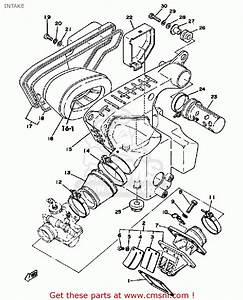 Yamaha Dt175 1978 Usa Intake