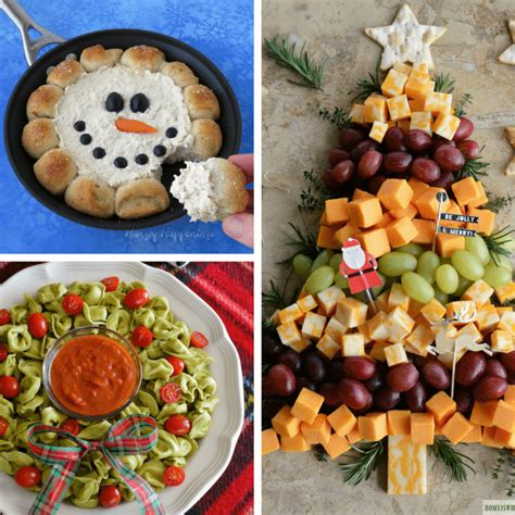 creative christmas appetizers  decorated cookie