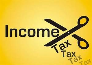 Income tax cut stock illustration. Image of scissor ...