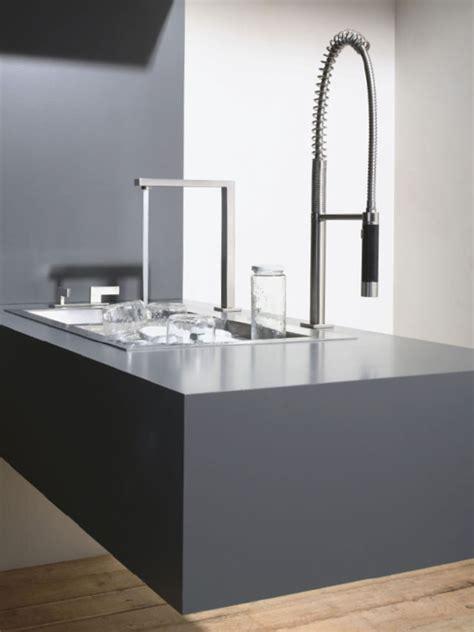 robinet de cuisine design robinet de cuisine 3 trous avec douchette 20 830 680