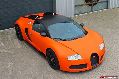 matte orange gallery matte orange bugatti veyron wrap by jd customs