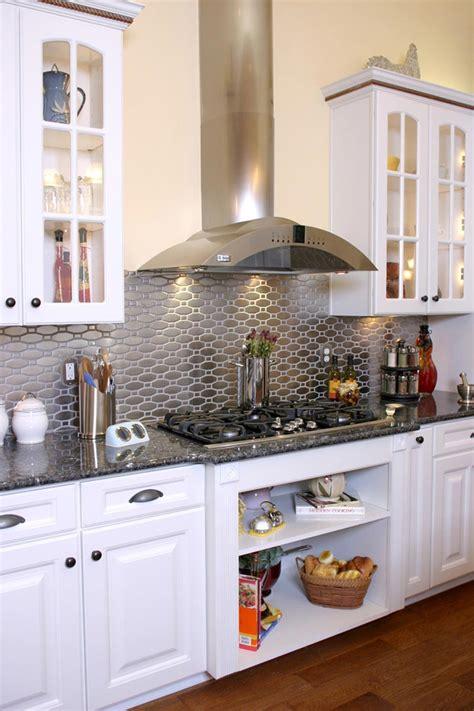 dosseret cuisine pas cher un dosseret de cuisine tendance et moderne en métal