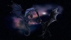 Cosmic Dragons By Weird Black Cat On DeviantArt