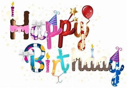 Birthday Happy Clip Clipart Friend Cake Wishes