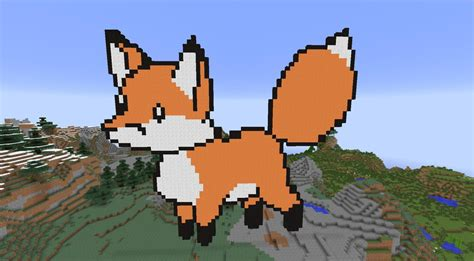 Minecraft Fox Pixel Art By X-ray-dog On Deviantart