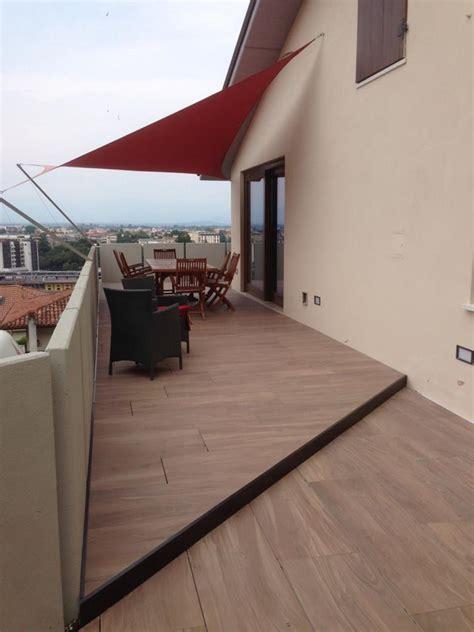 pavimento terrazzo legno pavimenti in legno per esterno a vicenza e a verona