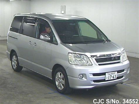 2003 toyota noah silver for sale stock no 34552