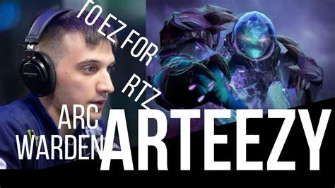 arteezy arc warden dota  gameplay broken hero dota  gameplay