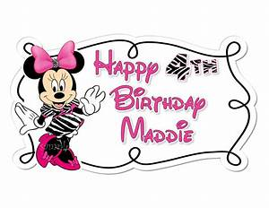 Minnie Mouse Happy Birthday Clipart - ClipArt Best