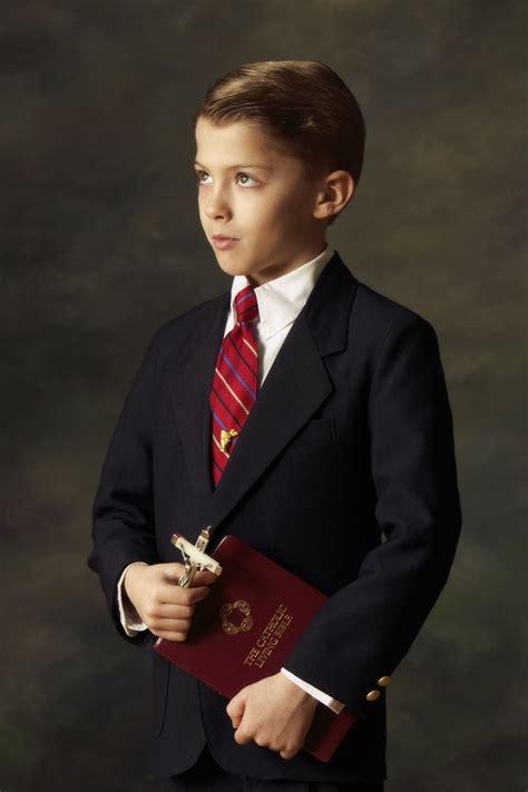 communion portraits  milestone   childs