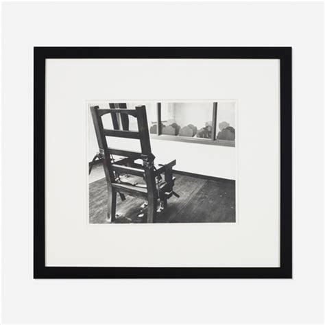 untitled electric chair by andy warhol on artnet