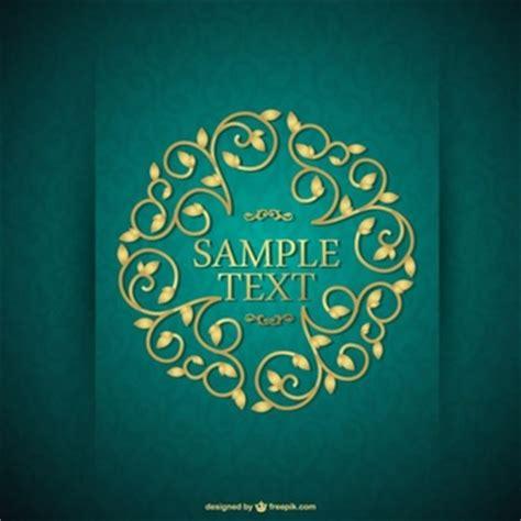 diseño flyer verde circulo template free blumen vektoren download der kostenlosen vektor