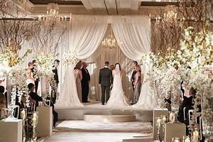 Ceremony Décor Photos - Bride & Groom Under Chuppah at