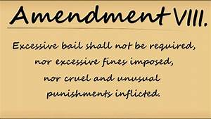 Memorize the Eighth Amendment to the U.S. Constitution ...
