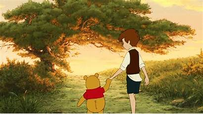 Pooh Robin Christopher Disney Winnie Friends Quotes