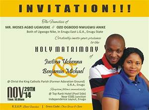 sample of wedding invitation card in nigeria chatterzoom With price of wedding invitation cards in nigeria