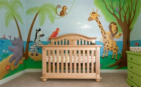Kinderzimmer Ideen Dschungel by Dschungel Kindertapete Kinderzimmer Gestalten