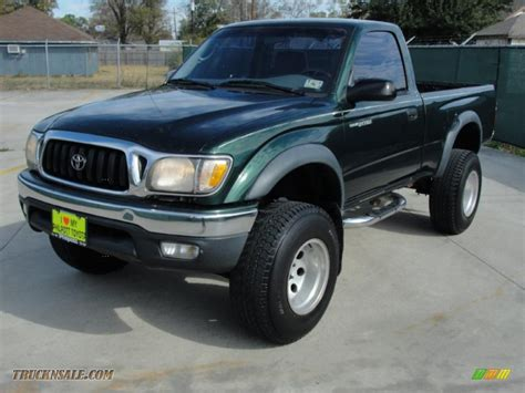 2001 Toyota Tacoma Prerunner by 2001 Toyota Tacoma Prerunner Regular Cab In Imperial Jade