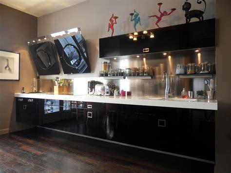 cuisine laque noir cuisine noir laque