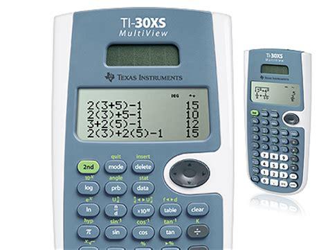 ti xs multiview wetenschappelijke rekenmachine