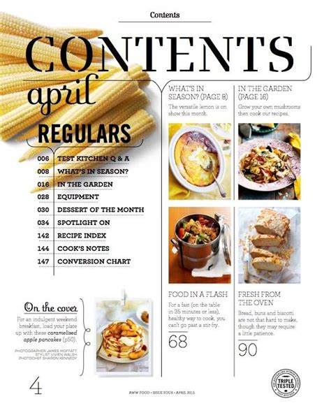 magazines cuisine 25 best ideas about food magazine layout on