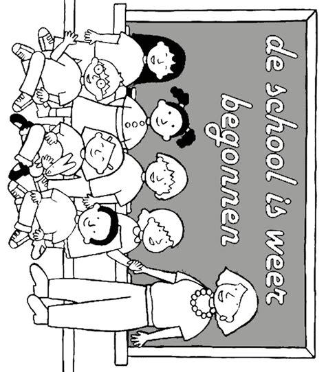Welkom In Groep 3 Kleurplaat Zoem by Kleurplaat De School Is Weer Begonnen Start Schooljaar