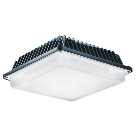Led Canopy Light Fixtures by Halco 58w Low Profile Led Canopy Light