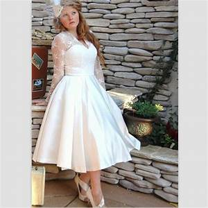 Aliexpresscom buy short wedding dresses plus size 2015 for Plus size short wedding dresses with sleeves