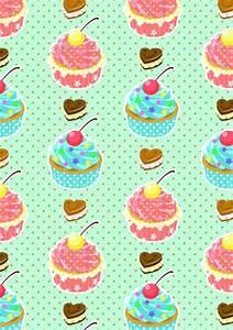 Cute Cupcake Wallpaper - WallpaperSafari