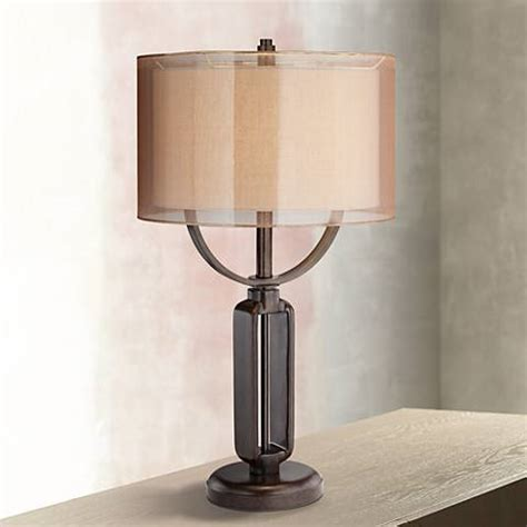 Franklin Iron Works Monroe Industrial Table Lamp  #1f533. 42 Inch Cabinets. Oakwood Veneer. Wac Lighting. Zuo Modern. Kitchen Pantry. Octopus Figurine. Cabinet Styles. French Country Counter Stools
