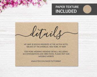 image result  wedding invitation details card wedding