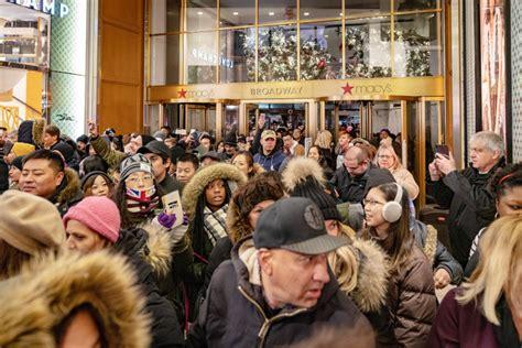 black friday   craziest   crowds hit